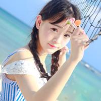 海边写真清纯可爱女生头像第4张