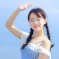 海边写真清纯可爱女生头像第3张