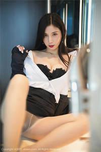 性感的女白领小蛮妖Yummy蕾丝内衣美乳长腿诱惑私拍套图 秀人网第2243期