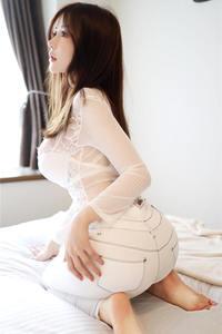 大胸嫩模糯美子Mini蕾丝内衣大尺度写真套图 美媛馆第416期