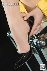 时尚美女安娜肉丝美腿诱惑写真 Ligui丽柜NO.774