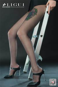 性感大长腿美女甜甜OL黑丝制服写真套图 Ligui丽柜NO.867