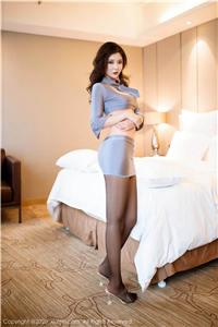 养眼嫩模刘艾琳Allen情趣装酥胸翘臀诱惑私房照 秀人网第2494期